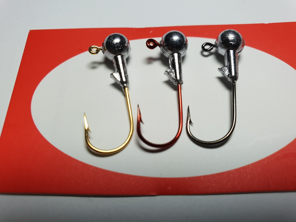 [korea+usa+mustad]MUSTAD Color Jig Heads