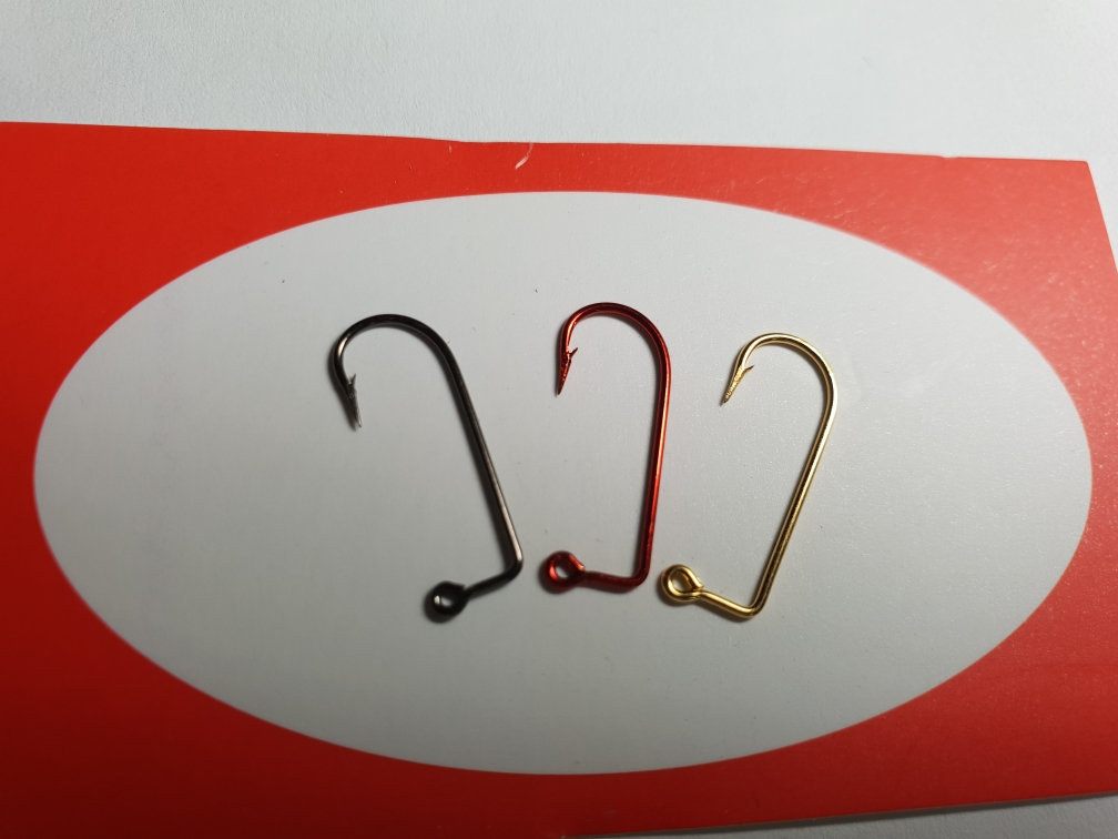 [mustad]MUSTAD COLOR JIG HOOKS